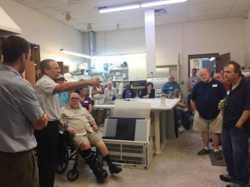 Bill and Paul Leimkuehler Teaching